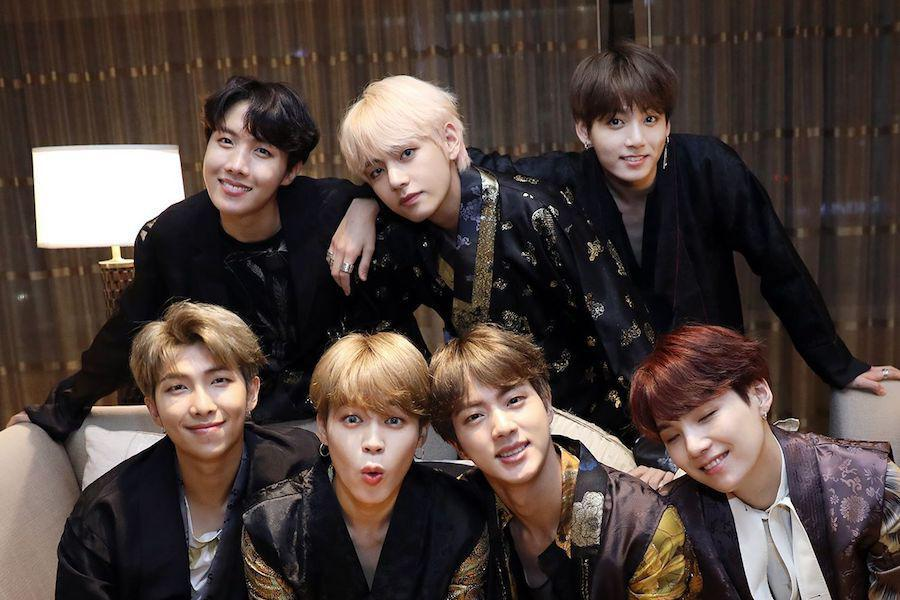 BTS To Reportedly Appear At 2019 Grammy Awards