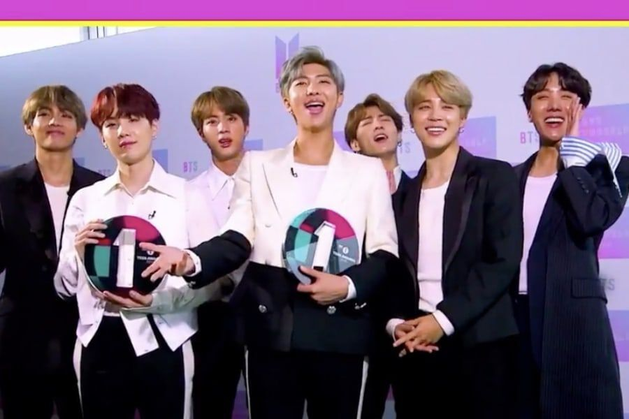 BTS Wins Best International Group And Best Social Media Star At BBC Radio 1's Teen Awards 2018