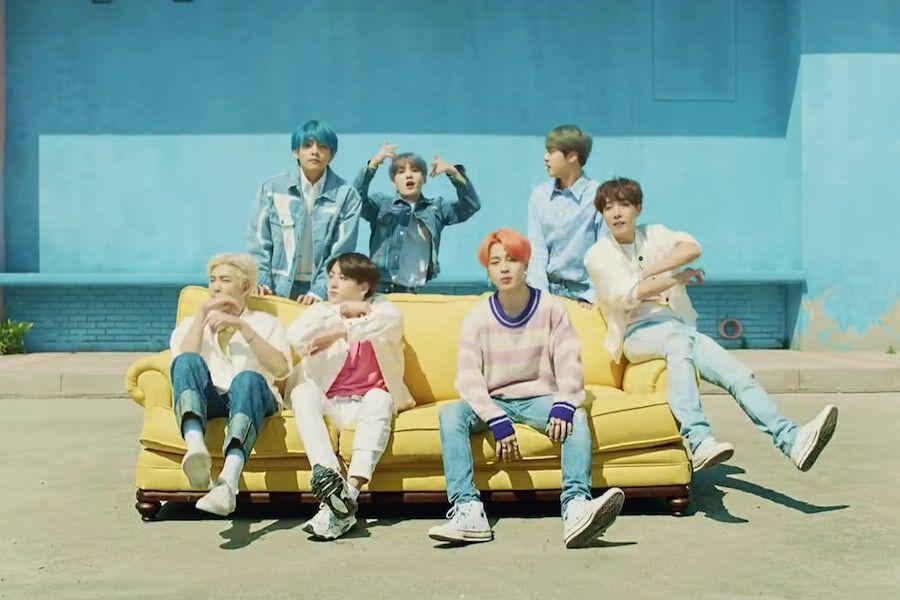 "BTS's ""Boy With Luv"" Becomes Fastest Korean Boy Group MV To Hit 200 Million Views"
