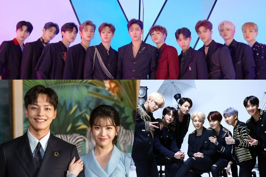 """X1, """"Hotel Del Luna"""" OST, And BTS Continue To Reign Over Gaon Weekly Charts"""