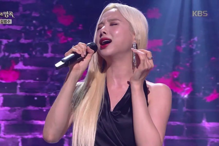 """Watch: EXID's Solji Makes Triumphant Return To """"Immortal Songs"""" After 3 Years With Beautiful Performance"""