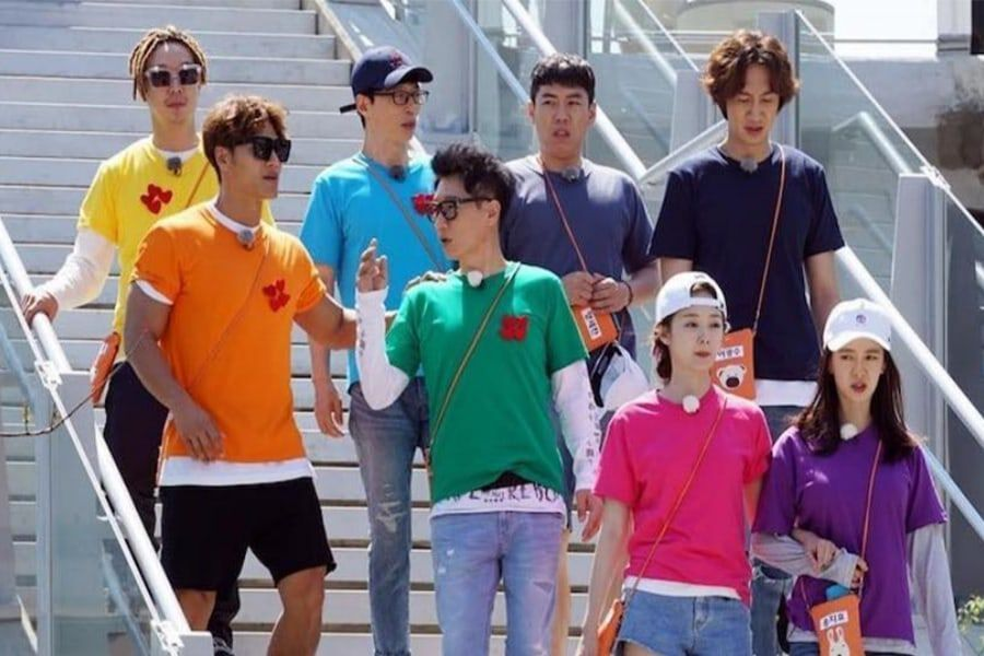 """Song Ji Hyo And Her """"Running Man"""" Boys: A Look Back At Their Sweet"""