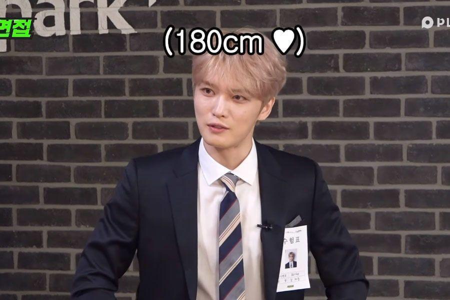 """Kim Jaejoong habla sobre su salario deseado, estatura y grupo idol favorito en """"Extreme Interview"""""""