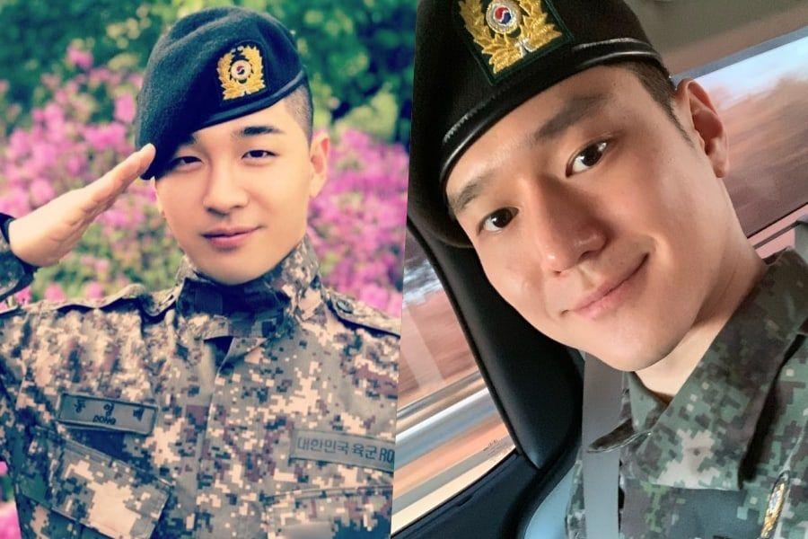 BIGBANG's Taeyang Celebrates Go Kyung Pyo's Discharge From Military