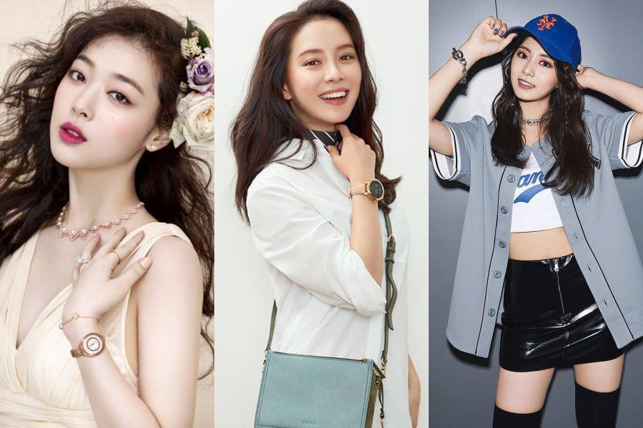 19 female celebrities who are taller than you might think soompi