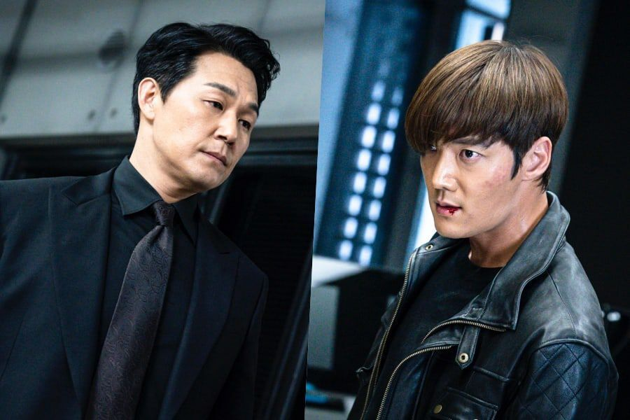 """Park Sung Woong And Choi Jin Hyuk Prepare To Face Off In Their Final Battle In """"Rugal"""" Finale"""