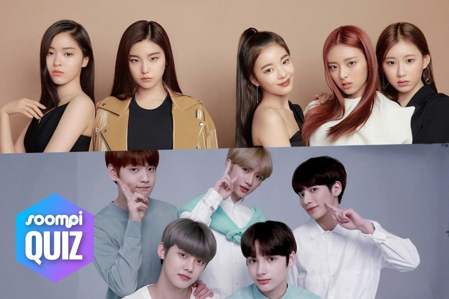 QUIZ: Which Rookie K-Pop Group Should You Stan? | Soompi