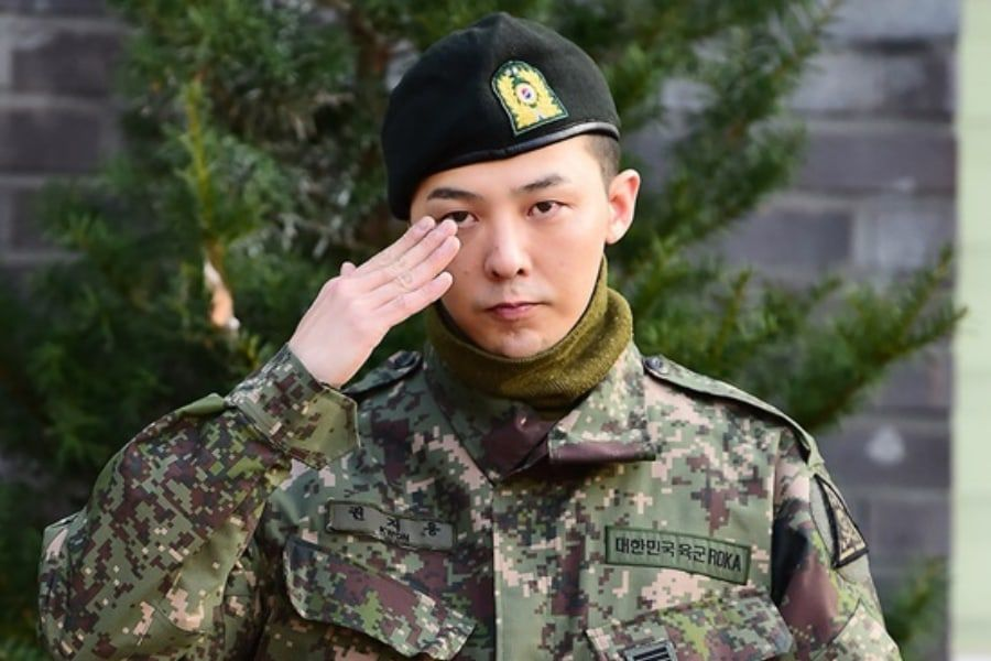 BIGBANG's G-Dragon Officially Discharged From Military