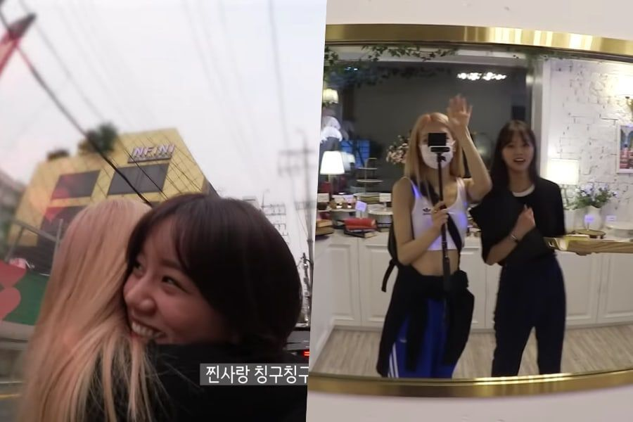 Watch: Girl's Day's Hyeri And BLACKPINK's Rosé Catch Up And Enjoy A Dinner Date Together In New Vlog