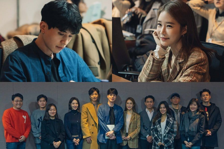 Lee Dong Wook, Yoo In Na, And More Gather For 1st Script