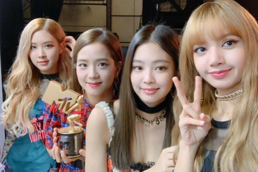 "BLACKPINK's ""DDU-DU DDU-DU"" Wins Best Dance Video Award At MTV VMAs In Japan"