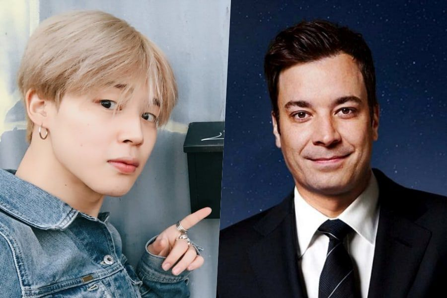 BTS's Jimin Shares Adorable Interaction With Jimmy Fallon After He Shows Off His BT21 Character Hoodie