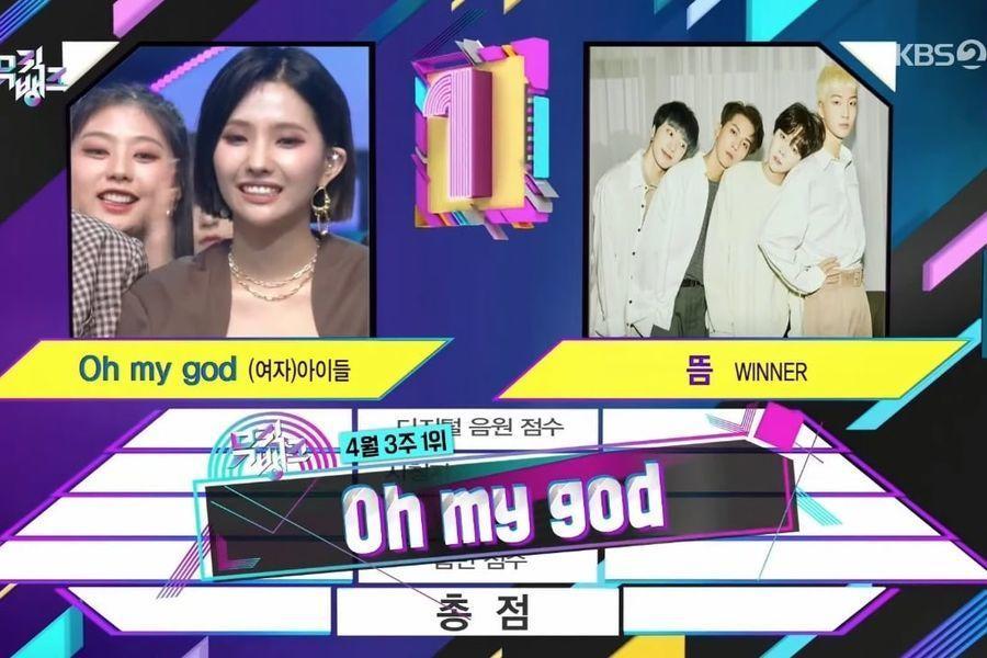 """(G)I-DLE obtiene su 2ª victoria por """"Oh My God"""" en """"Music Bank""""; Actuaciones de Apink, ATEEZ, CRAVITY y más"""