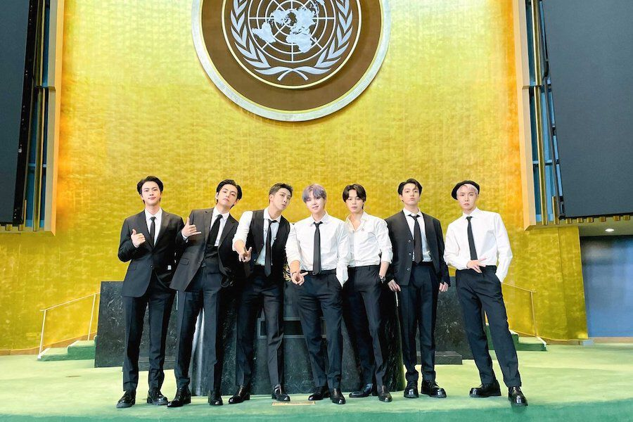 """Watch: BTS Shares Message Of Hope For The Future Generation, Performs """"Permission To Dance"""" At The United Nations"""