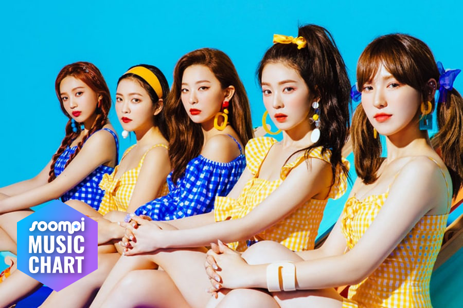 "Red Velvet Guards Top Spot With ""Power Up"""