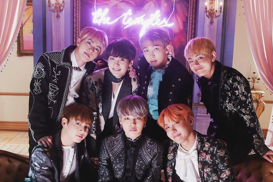 """BTS's """"Blood Sweat & Tears"""" Becomes Their 6th MV To Hit 400 Million Views 