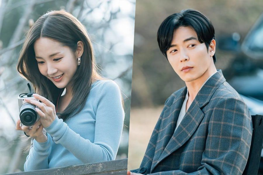"Park Min Young Puts Her Idol Fangirl Skills Towards Photographing Kim Jae Wook In ""Her Private Life"""