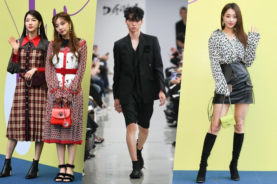Stars And Style Celebrity Guests And Top 10 Trends From Seoul Fashion Week S S20 Soompi