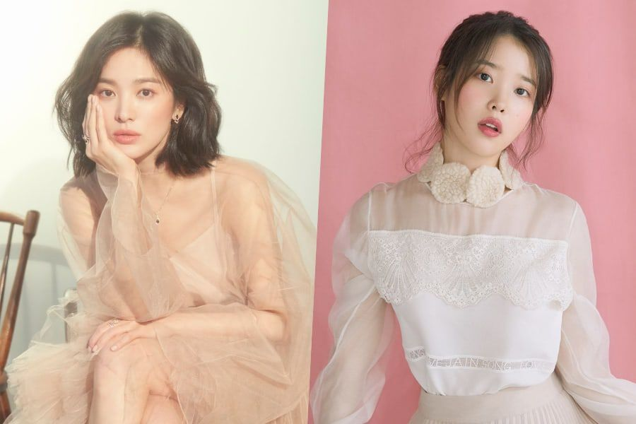 """Song Hye Kyo Shows Support For IU And Upcoming Drama """"Hotel Del Luna"""" With Special Gift"""