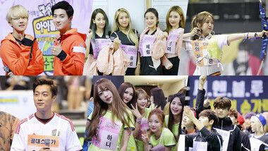2015 Idol Star Athletics Championships – Spécial Chuseok