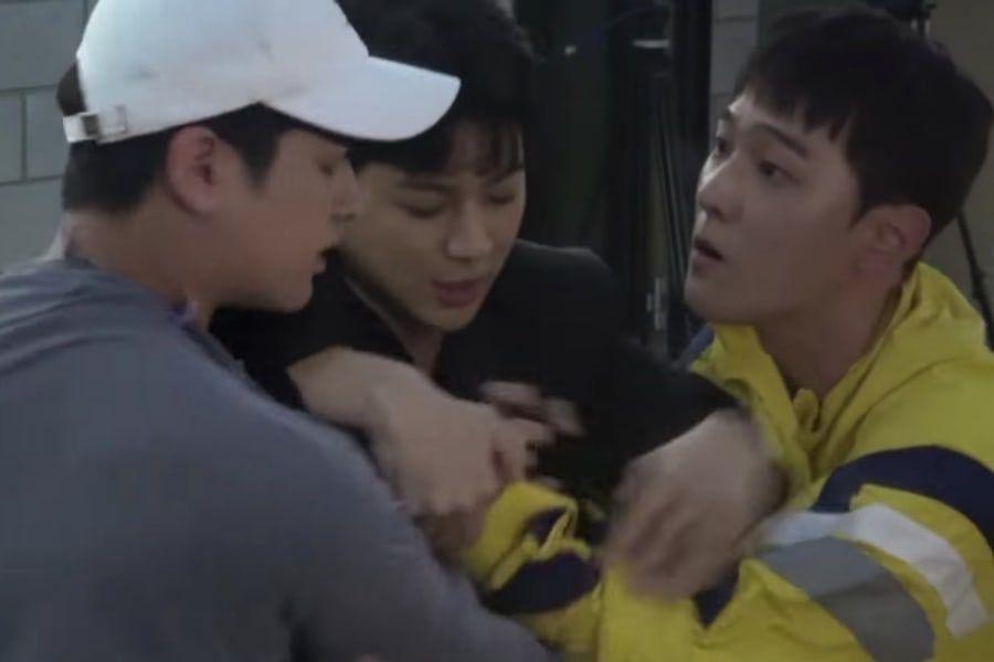 Watch: iKON Pulls Epic Hidden-Camera Pranks On Each Other