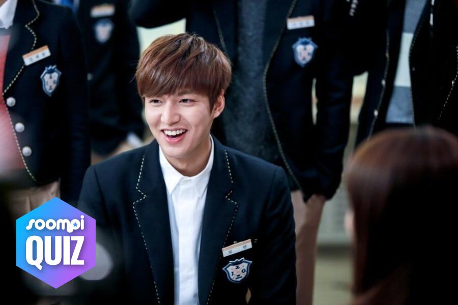 "QUIZ: Would You End Up With Lee Min Ho's Character In ""Heirs""?"