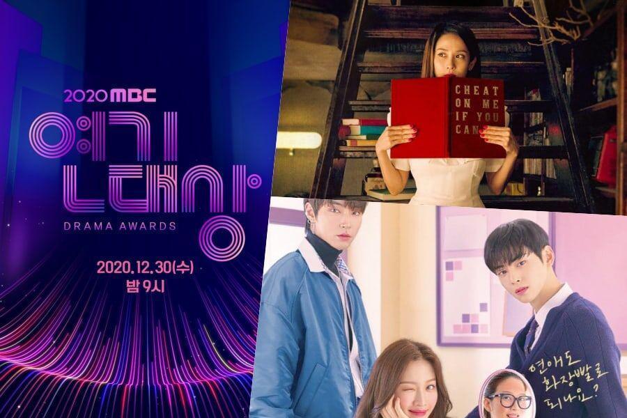 """Cheat On Me If You Can"" compite con 2020 MBC Drama Awards en ratings + ""True Beauty"" no se emitirá esta semana"