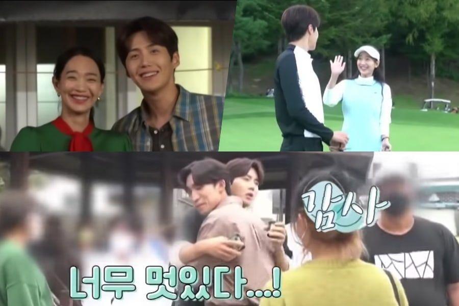 """Tonton: Shin Min Ah dan Kim Seon Ho Tunjukkan Dukungan Antusias Untuk Anggota Pemeran Mereka Selama Syuting """"Hometown Cha-Cha-Cha"""""""