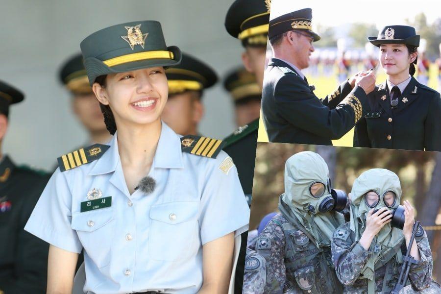 Blackpink S Lisa Pentagon S Hongseok And More Finish Training On