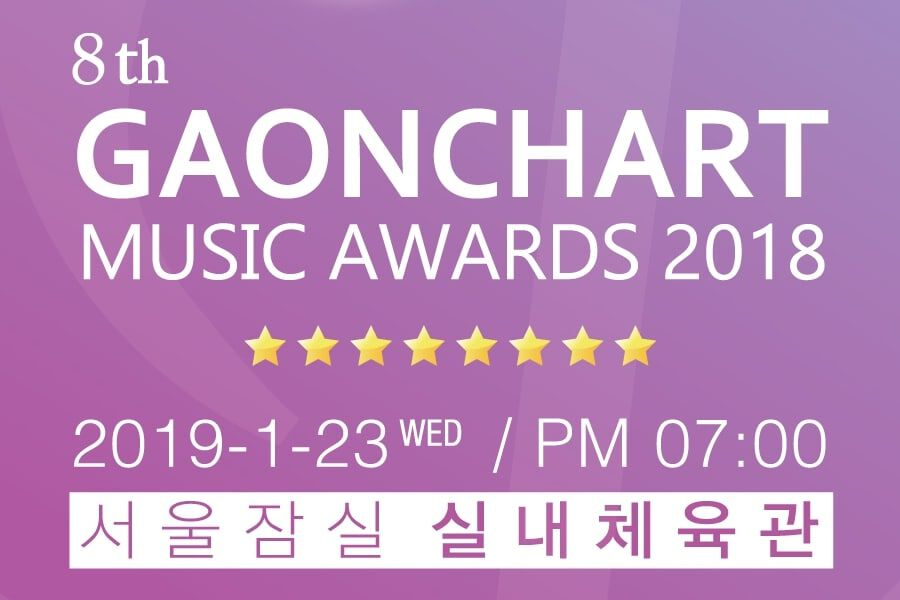 8th Gaon Chart Music Awards Reveals Award Categories And Nominees