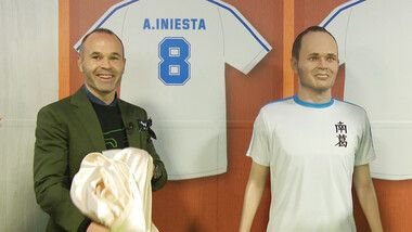 Iniesta TV: Discover Japan Episode 15: Iniesta Meets Captain Tsubasa #3