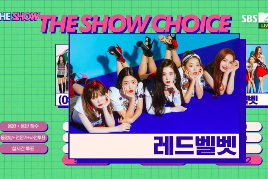 """Watch: Red Velvet Grabs 5th Win For """"Power Up"""" On """"The Show"""
