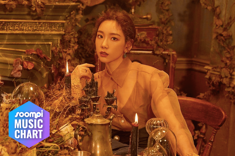 """Taeyeon Rises To No. 1 With """"Four Seasons""""; Soompi's K-Pop Music Chart 2019, April Week 2"""