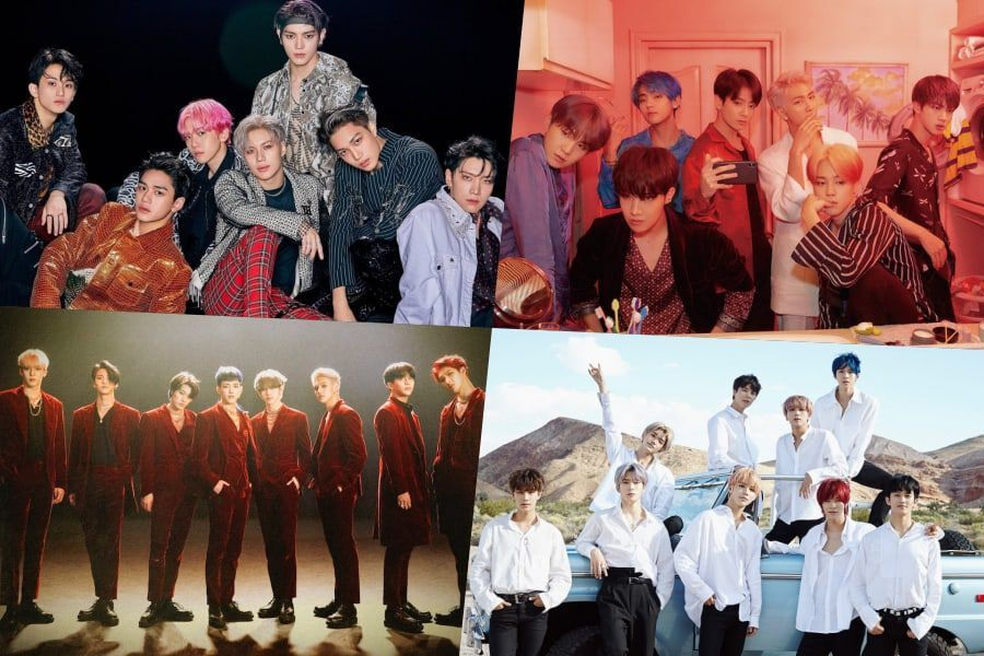 SuperM, BTS, ATEEZ, NCT 127, And More Rank High On Billboard's World Albums Chart