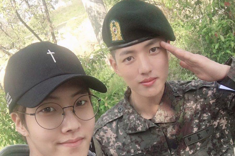 INFINITE's Sungyeol Shares Update From Military With Brother Golden Child's Daeyeol