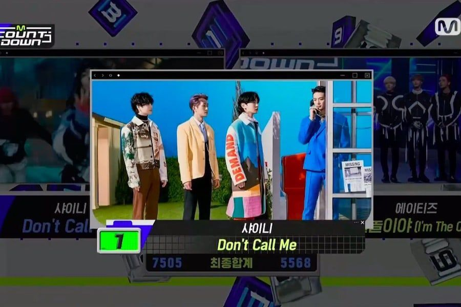 """Watch: SHINee Scores 6th Win For """"Don't Call Me"""" On """"M Countdown""""; Performances By iKON, ATEEZ, Brave Girls, And More"""