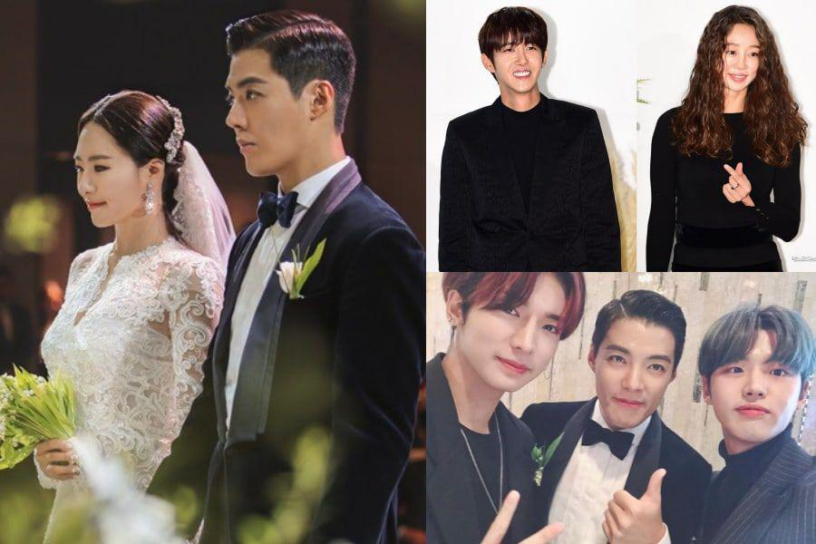 Celebrities Gather To Celebrate As Kangnam And Lee Sang Hwa Get Married
