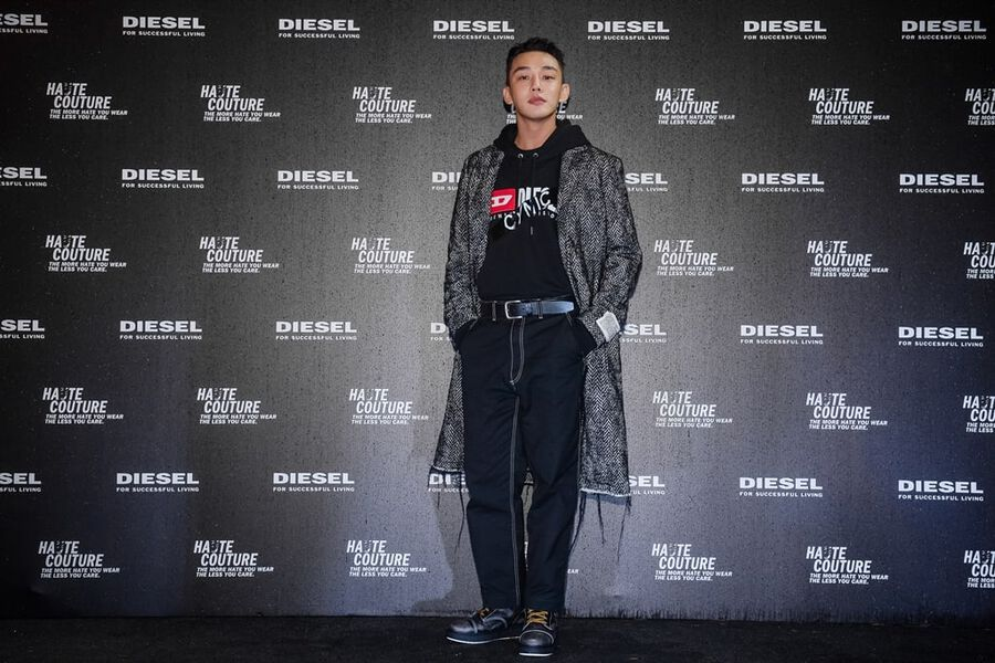 Yoo Ah In Is First Asian Actor To Be Selected As Global Model For Fashion Brand Diesel