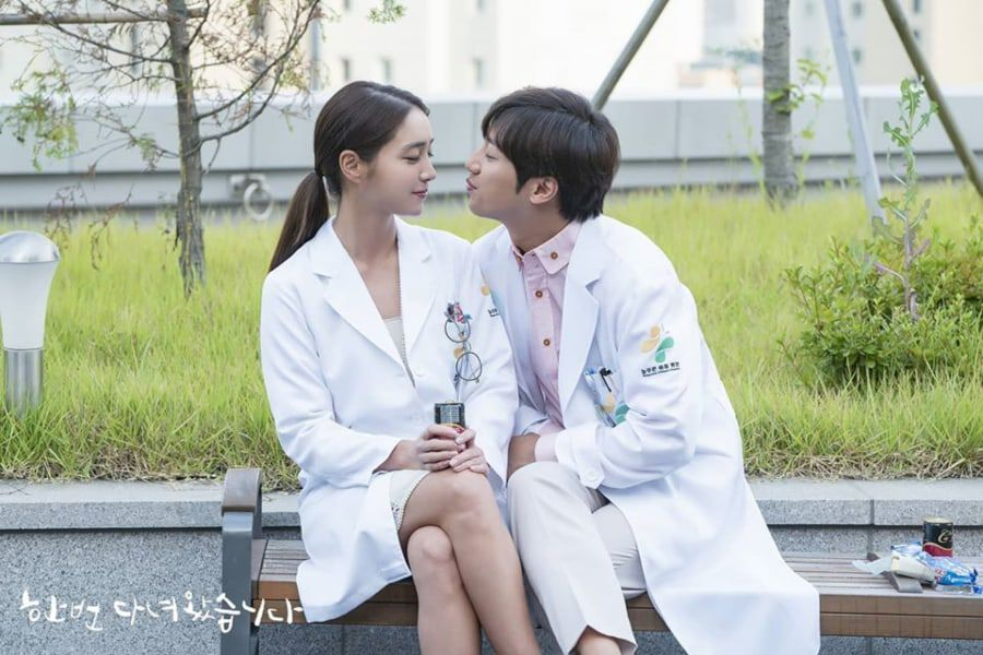 """Lee Min Jung And Lee Sang Yeob Are Just Inches Away From A Kiss In """"Once Again"""""""