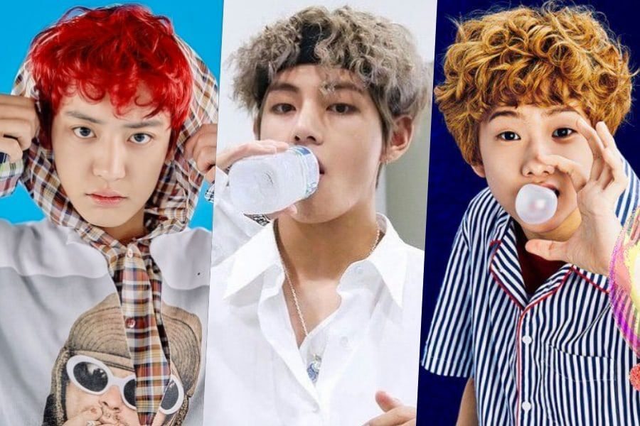 Male Stars Who Rock Curly Locks Soompi