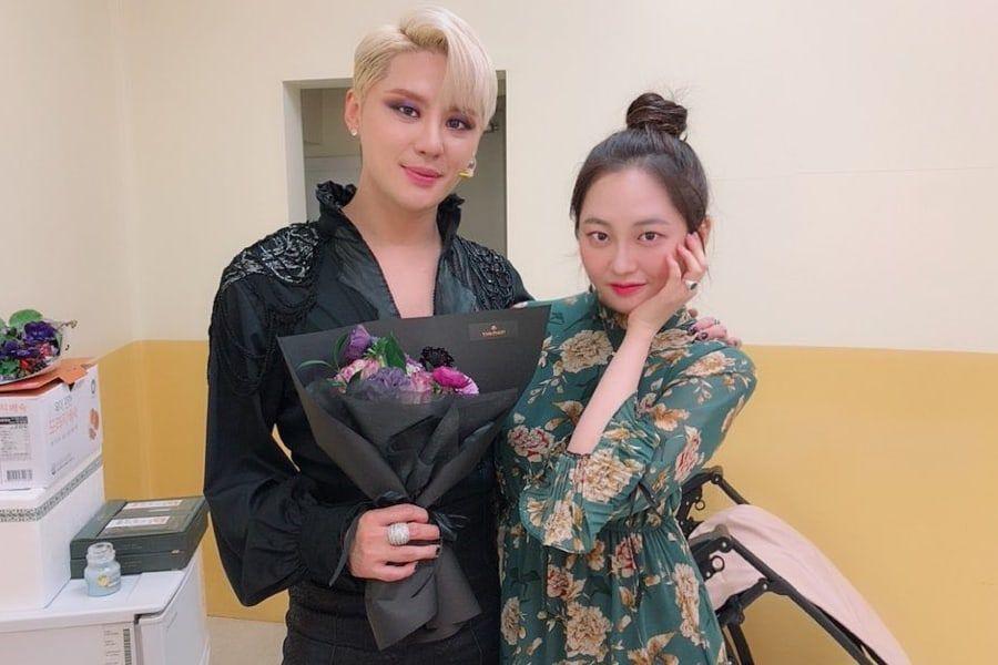 Taeha de MOMOLAND muestra apoyo a su primo Kim Junsu de JYJ