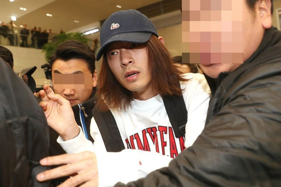 Jung Joon Young fichado por cargos de difundir imágenes de cámaras ocultas y se le prohibe abandonar el país