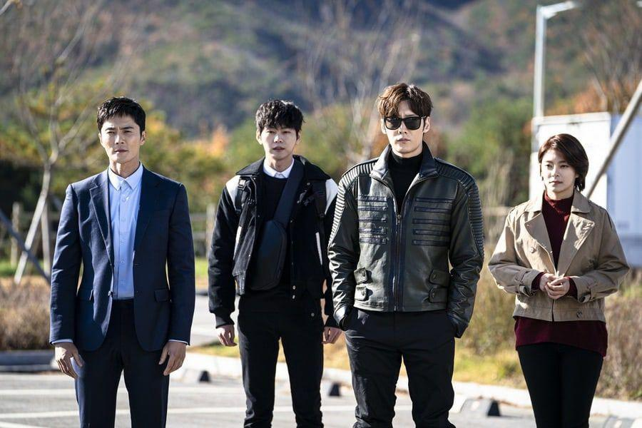"""Choi Jin Hyuk, Jo Dong Hyuk, Jung Hye In, and Park Sun Ho Team Up For Their 1st Mission In """"Rugal"""""""