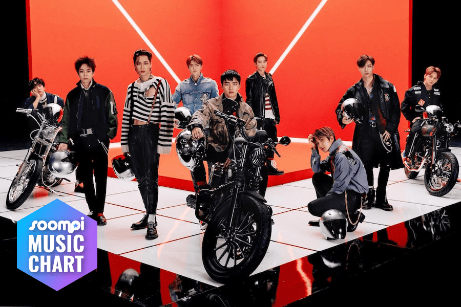 """EXO Ascends With """"Tempo""""; Soompi's K-Pop Music Chart 2018, November Week 3"""