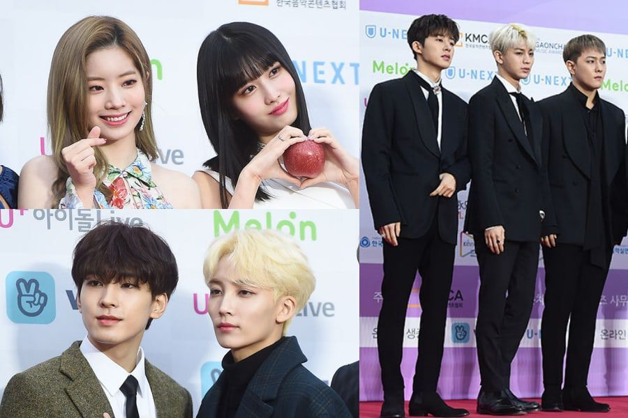 Stars Shine On The Red Carpet At The 8th Gaon Chart Music Awards