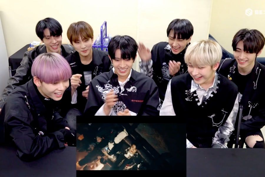 "Watch: ENHYPEN Gets Scared While Reacting To Their Own ""Drunk-Dazed"" MV"
