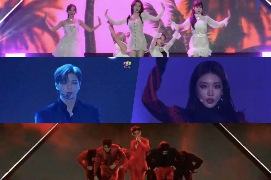 Watch: Performances From 2019 Asia Artist Awards