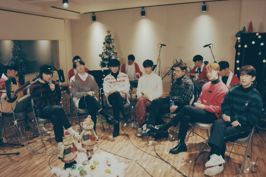 "GOT7 celebra las fiestas con versión navideña de ""Miracle"""