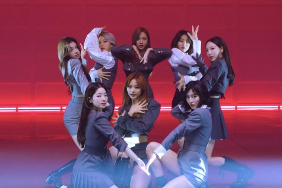 "Watch: TWICE Drops Stunning Choreography Video For ""I CAN'T STOP ME"""