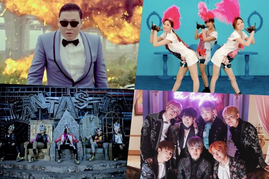 PSY, Orange Caramel, BIGBANG, And BTS's MVs Named On Billboard's 100 Greatest MVs Of The 2010s List